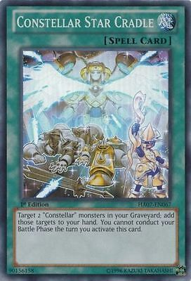 Card yu-gi-oh super rare ha07-fr067 cradle of stars of the soul
