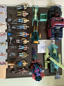 Vintage-GI-Joe-Dreadnok-Lot-Rare-Almost-Complete-Figures-Vehicle-s-Accessories