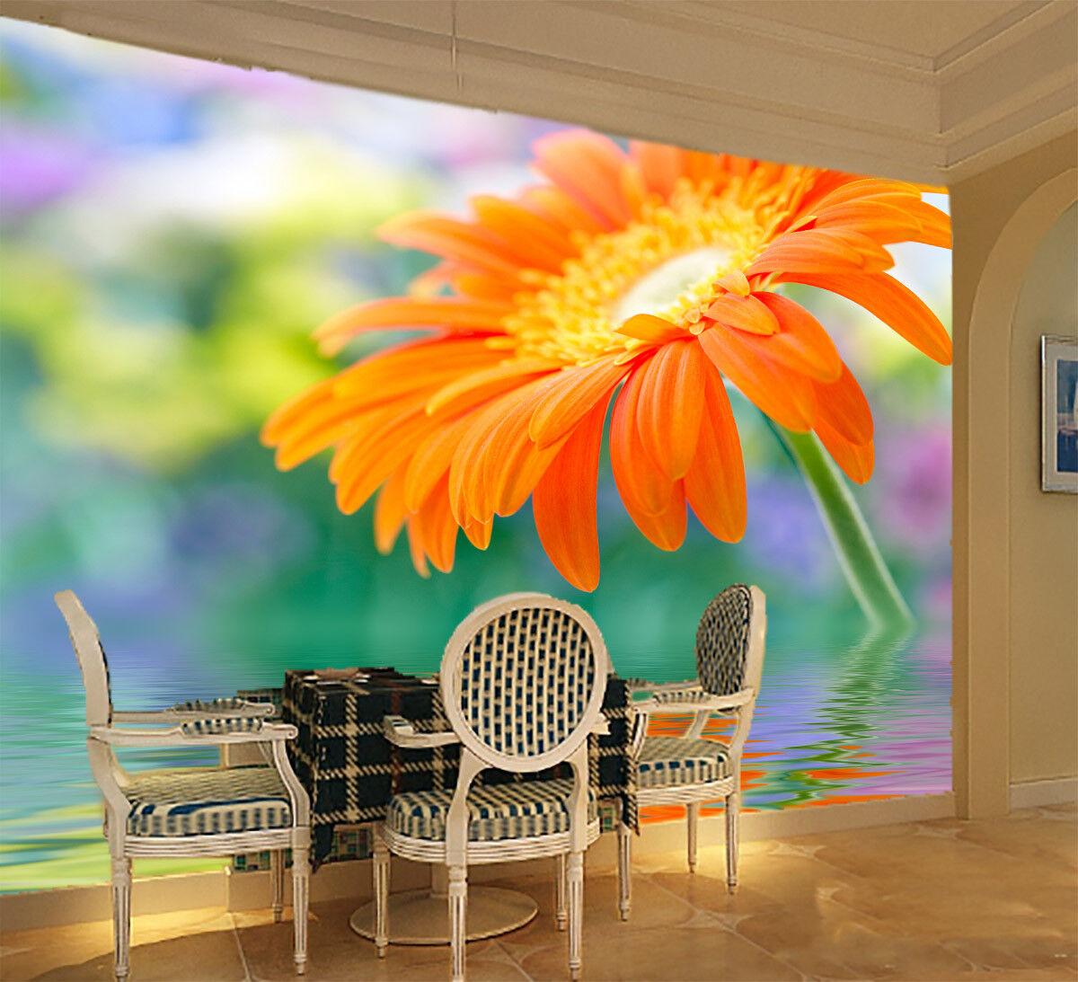 3D Flowers 454 Wallpaper Murals Wall Print Wall Mural AJ WALL AU Lemon
