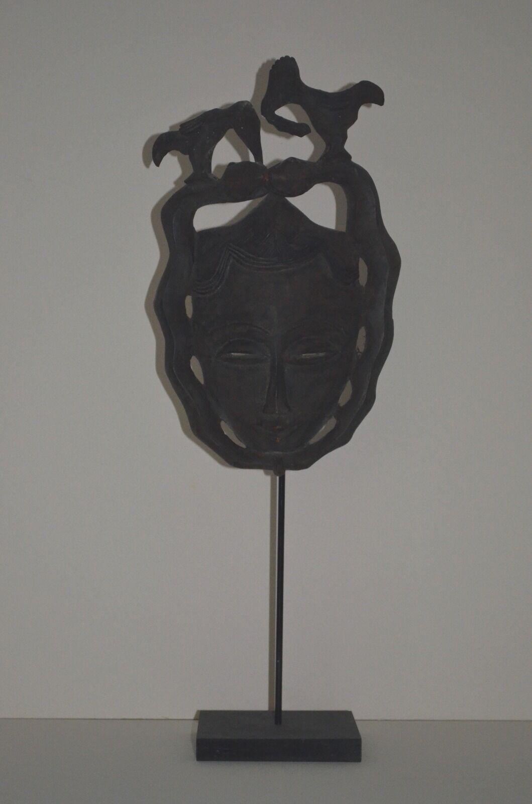 Masque Africain ancien De Style Gouro - Old African Gouro Style Mask