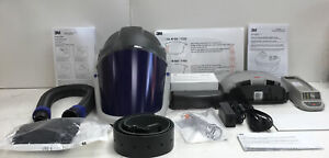 3M TR300N+ HIK Versaflo Respiratory Hard Hat w/Clear Visor PARR Kit
