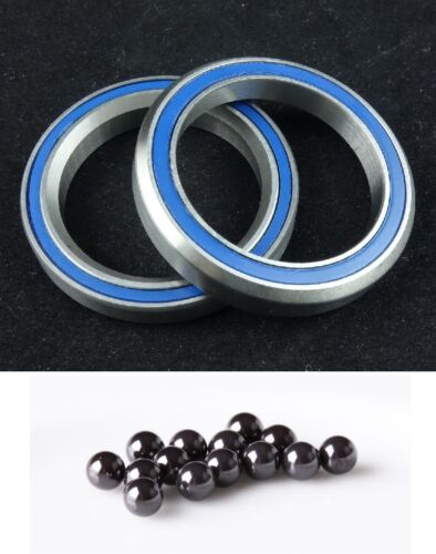 "J/&L Titanium//Ti Ceramics Bearing External Headset 1/'1//8/""-34MM-105g"