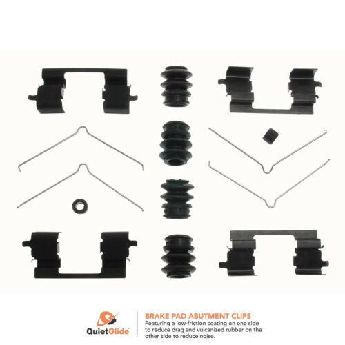Carlson 13521Q Front Disc Brake Hardware Kit Manufacturers Limited Warranty