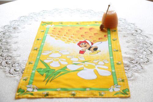 100/% COTTON KITCHEN TEA TOWEL Bee and Honey NEW