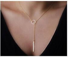 Women Pendant Gold Chain Choker Chunky Statement Bib Necklace Jewelry Charm new