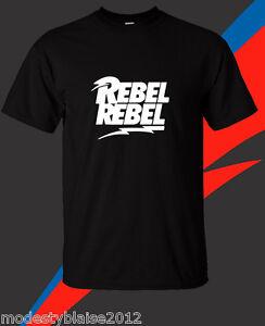 e5ffb42f9 DAVID BOWIE T shirt Music Rock Retro Tee Black T-Shirt Size S-3XL ...