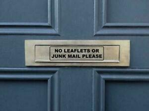 NO-JUNK-MAIL-or-LEAFLETS-Self-Adhesive-Vinyl-Sticker-Letterbox-Door-Sign-Post