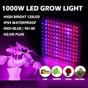 1000W-LED-Crescita-Luce-Idroponico-Spettro-Completo-Veg-Fiore-Interno-Pianta