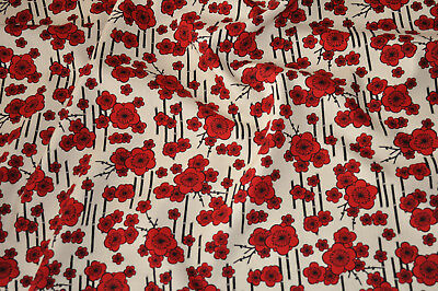 Pansy Bright F557-100/% Cotton By The Quarter Metre Fabric Freedom
