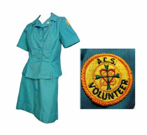 Rare Uniform 60-70s ACS Army Community Service Vol