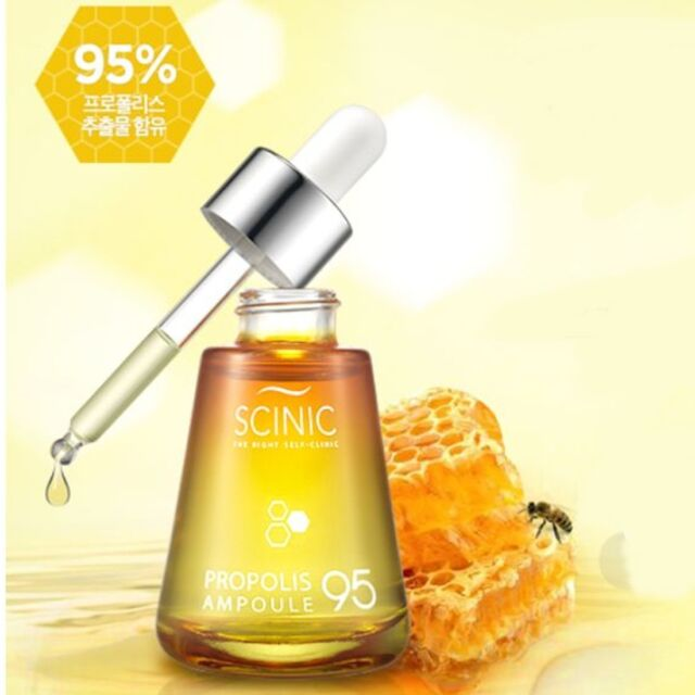 [Scinic] Real Propolis Ampoule 30ml 1.01oz Nutrition, calm care Korea cosmetics