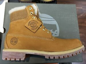 fur lined timberland boots