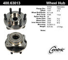 Axle Bearing and Hub Assembly-C-TEK Standard Front,Rear Centric 400.63013E