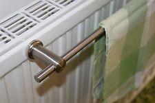 Edelstahl Handtuchhalter 80 cm Magnet Halter für Heizkörper Handtuchstange