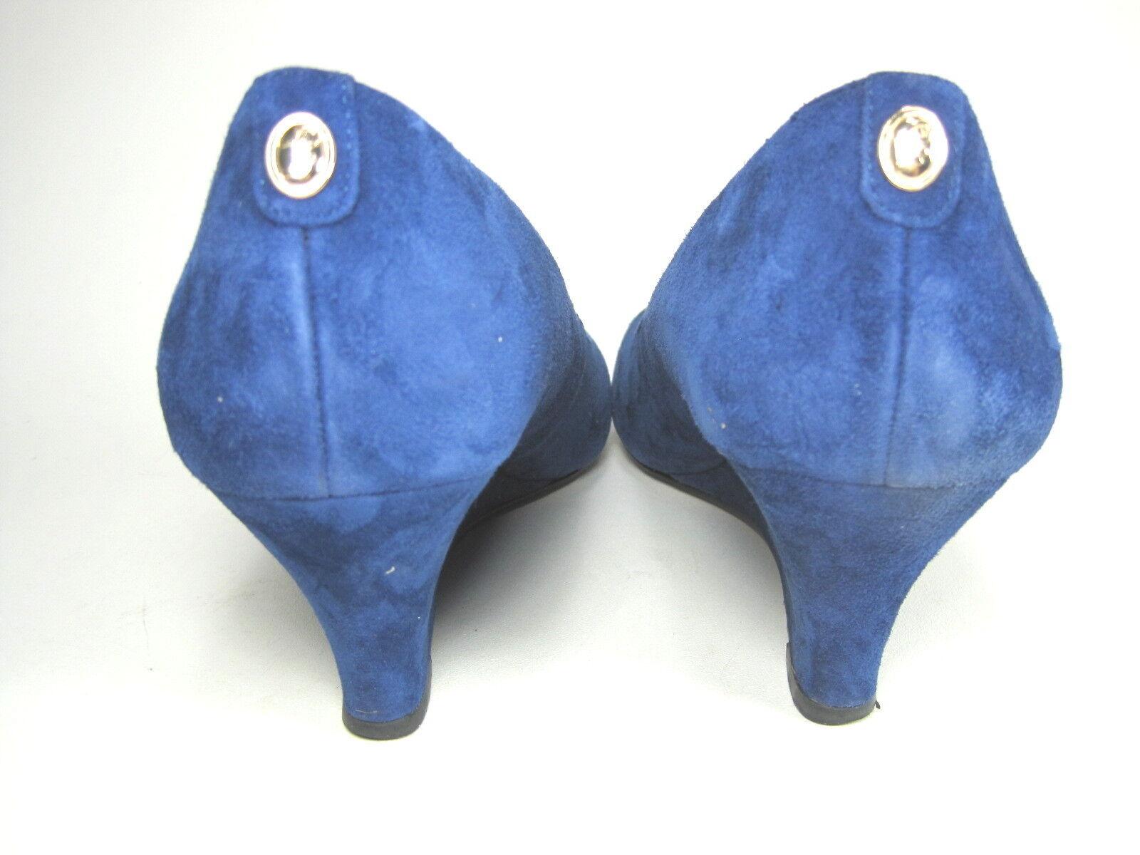 IVANKA Trump Para Azul Mujer Natale Cua Bombas Azul Para Oscuro Gamuza nos Mediano (B) m fe89f3