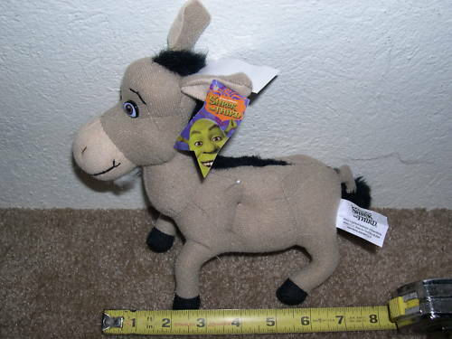 SHREK DONKEY  UNIQUE OLD ITEM  IN NEW CONDITION  NICE  2004 VINTAGE