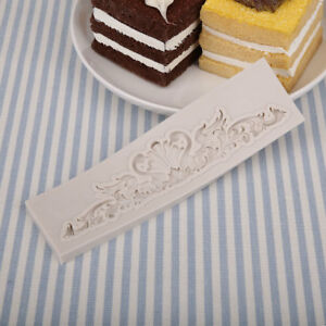 Baroque Designed Emboss Cake Cookies Bread Decorating Kitchen Mould Tool party