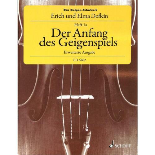 Das Geigenschulwerk Band 1a Der Anfang des Geigenspiels 6462-9783795712556