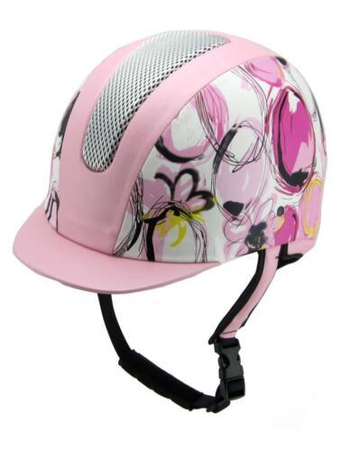 Equestrian Horse Riding Girls Helmet all purpose VG1 01.040 Design Purple// Pink