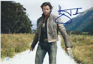 X-MEN signed 8x12 HUGH JACKMAN - Logan/Wolverine - AUTHENTICATED