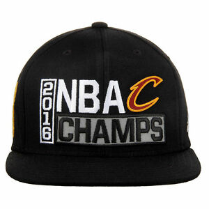 quality design 8cfd8 94fbc Image is loading 2016-NBA-Champions-Cavs-Hat-Snapback-Cleveland-Cavaliers-