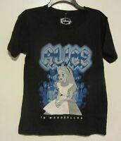 Disney's Alice In Wonderland Tour Black T-shirt Jr. Size Xs