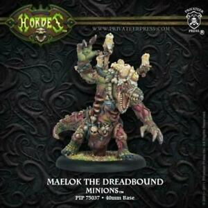 Privateer Press PIP75037 Hordes-Minion Maelok The Dreadbound Model Kit