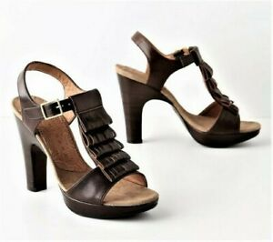 Chie Mihara Brown Leather Fringe