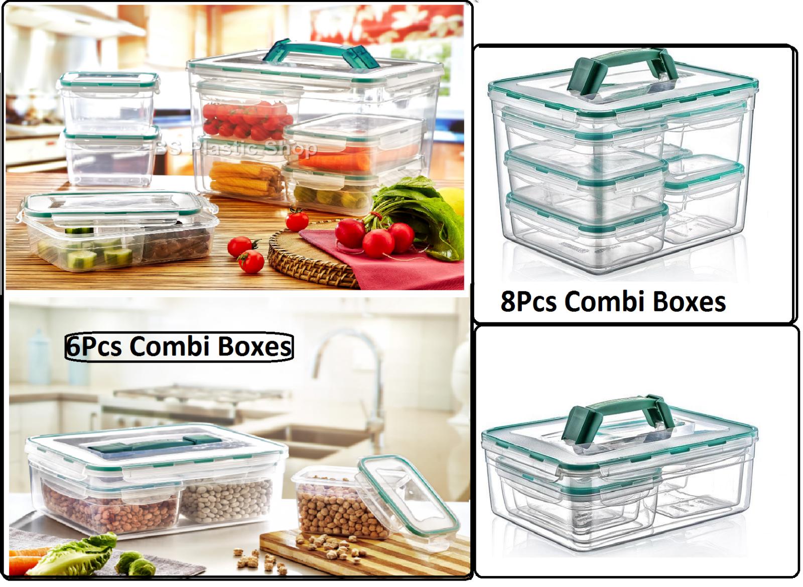 Lot de 5 BPA Libre Boîte de RangeHommest en Plastique AliHommests Container Picnic Lunch boxes