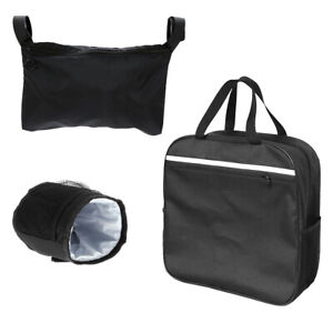 Wheelchair-Storage-Bag-Scooters-Seat-Belt-Cup-Bag-Backpack-Side-Pack-Cover-G9A