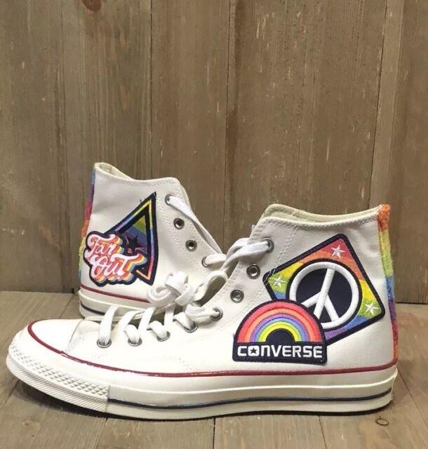 Converse Ct All Star as 70 Hi Pride Parade Rainbow 158420C Unisex Mens 10