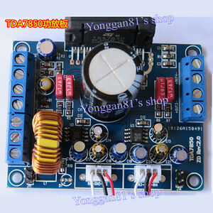 tda7850 car audio power amplifier board stereo 4x 50w with ba3121 Circuit Board Glass at Car Stereo Circuit Board