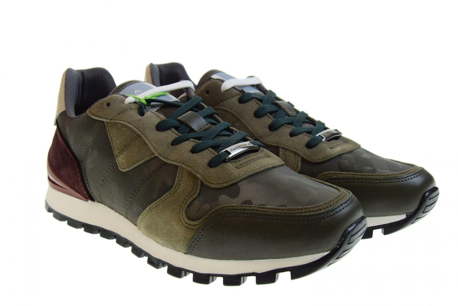 Ambitious P19u shoes men low sneakers 8061 GREEN