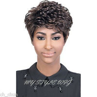 Motown Tress Synthetic Full Wig - Angie