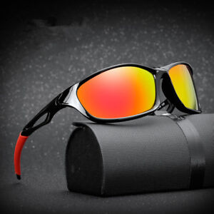 afa05813649 Image is loading New-Polarized-Mens-Sunglasses-Outdoor-Sports-Oversize- Eyewear-