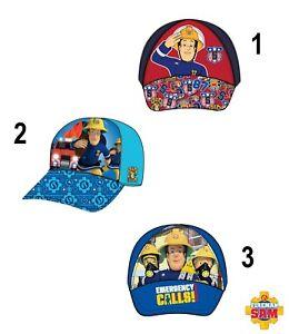 Disney-Feuerwehrmann-Sam-Cap-Basecap-Kappe-Muetze-Kopfbedeckung-Groesse-52-54-NEU