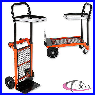Trolley Carrello manuale da trasporto universale pieghevole ufficio e magazzino