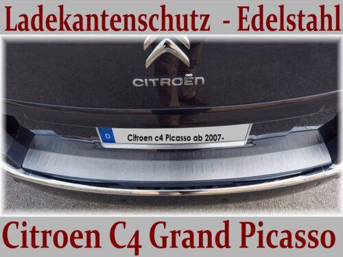 Citroen C4 Grand Picasso 2007-2013 Ladekantenschutz mit Sickenprägung CR