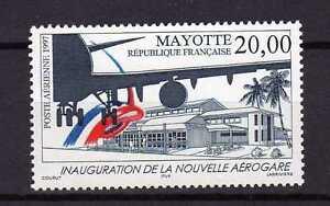12541-Mayotte-1997-MNH-Airport-Innauguration