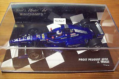Utile 1/43 Prost 1998 Peugeot Ap01 Jarno Trulli-mostra Il Titolo Originale