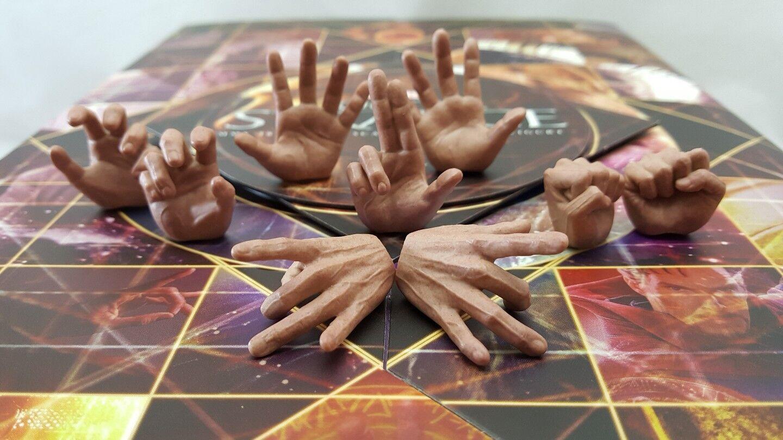 Hot Toys MMS387 Genuine Marvel 1:6 Dr Strange action Figure's 9 hands only  USA