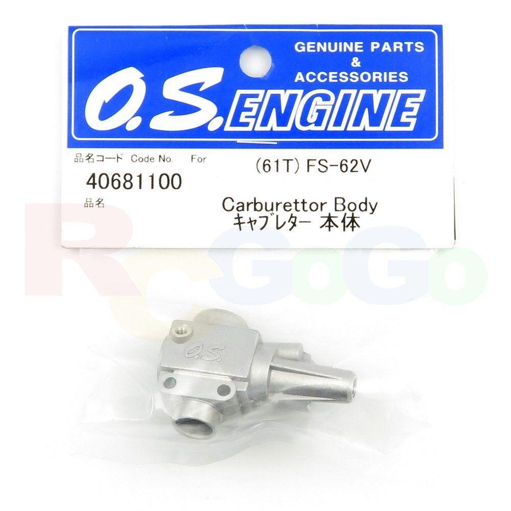 CARBURETTOR BODY 61T FS-62V OS40681100 O.S. Engines Genuine Parts