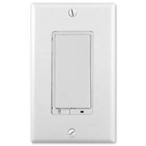 gocontrol z wave dimmer wall switch 500w white wd500z 1 by nortek linear. Black Bedroom Furniture Sets. Home Design Ideas