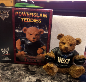 Rare-WWE-WrestleMania-Goldberg-Powerslam-Teddies-Collectible-Action-Figure-Toy