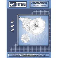 Atsg 76400 1980-1991 Ford Aod (f10d) Transmission Manual Cd Only