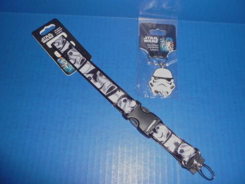Stormtrooper Key Chain New! Star Wars Stormtrooper Lanyard