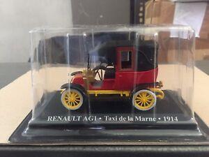 DIE-CAST-034-RENAULT-AG1-TAXI-DE-LA-MARNE-1914-034-1-43-TAXI-SCALA-1-43