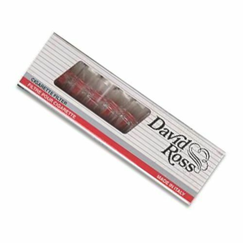 David Ross 8mm Filters for Straights Reduce Remove Tar Catcher Pack of 10 Filter