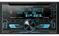 Kenwood Car Stereo 2-din Cd Receiver With Front Usb & Aux Inputs Dpx302u