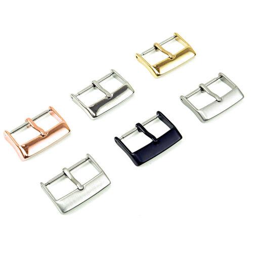 Strapsco Bracelet Montre Acier Inoxydable Bande Tang Boucle partie
